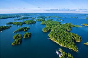 Canada-Toronto, Autotour Mille Iles et Chutes du Niagara