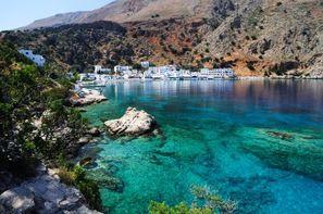 Crète-Heraklion, Autotour La Crète D'Est en Ouest en Liberté 2*