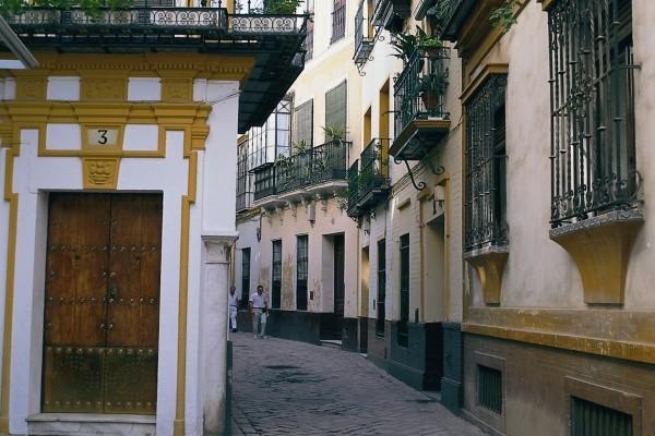 Vieux quartier de Seville Autotour Cordou Grenade4* Malaga Andalousie