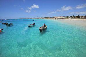 Cap Vert-Ile de Sal, Circuit Echappée capverdienne- Arrivée à Sal - Riu Funana & Garopa