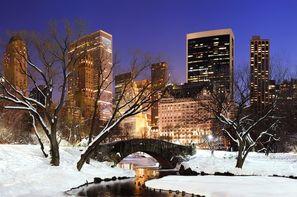 Etats-Unis - New York, Réveillon de New York 2014 en hôtel
