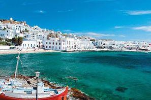 Grece-Athenes, Circuit Périples dans les Cyclades depuis Athènes - Mykonos et Paros 3*