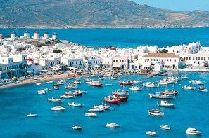 Grece - Santorin, Circuit Périple depuis Santorin 2 îles en 1 semaine : Santorin/Mykonos
