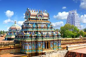 Inde-Chennai, Circuit privatif avec chauffeur : Tamil Kerala