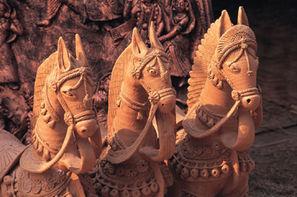 Inde-Delhi, Circuit Du Taj Mahal à Calcutta