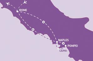Italie-Rome, Circuit Indispensable Italie du Sud