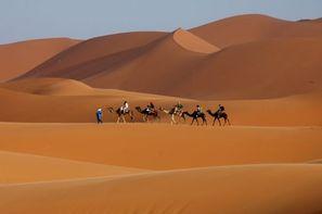 Maroc-Marrakech, Circuit Oasis en véhicule tout terrain