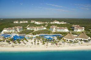 Mexique-Cancun, Combiné hôtels Entre hacienda et lagon