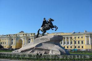 Russie-Saint Petersbourg, Hôtel Magie de Saint Petersbourg - Hôtel Ambassador 4*