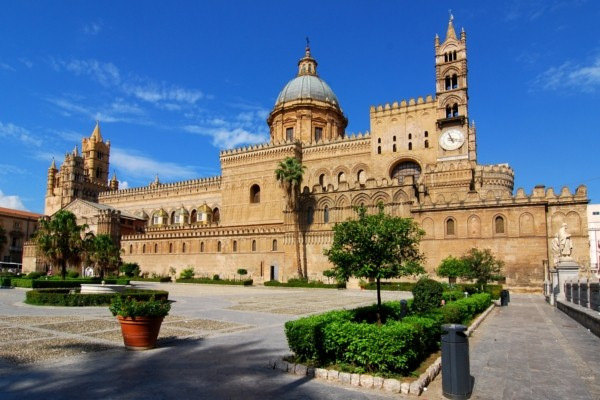 La cathédrale de Palerme Circuit Merveilles de Sicile3* Palerme Sicile et Italie du Sud