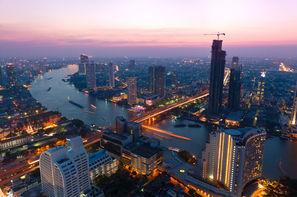 Thailande-Bangkok, Circuit Trésors du Siam 3* et séjour libre