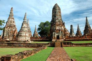 Thailande - Bangkok, Circuit Trésors du Siam 3* et farniente à Pattaya à l'hôtel Centara Grand Modus
