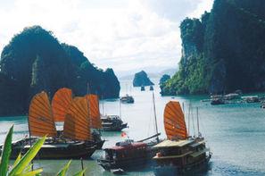 Vietnam-Hanoi, Circuit De la Baie d'Halong à l'île de Phu Quoc 3*