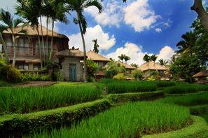 Bali-Denpasar, Combiné hôtels balnéaire au Prama Sanur Beach + Kamandalu Ubud 5*