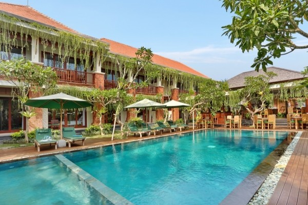 Piscine - - Balnéaire au Prama Sanur 4* Sup + D'Bulakan Boutique à Ubud 4* Combiné hôtels - Balnéaire au Prama Sanur 4* Sup + D'Bulakan Boutique à Ubud 4* Denpasar Bali