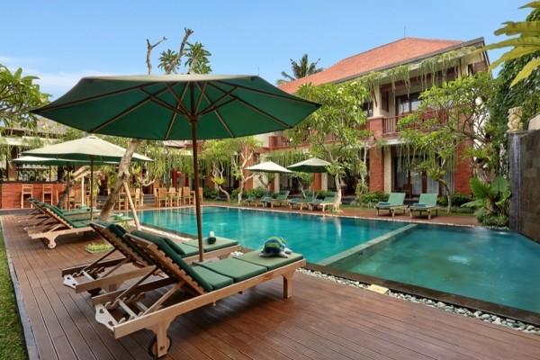 Piscine - Balnéaire à l'hôtel Sadara Boutique Beach Resort à Nusa Dua + D'Bulakan Boutique à Ubud Combiné hôtels Balnéaire à l'hôtel Sadara Boutique Beach Resort à Nusa Dua + D'Bulakan Boutique à Ubud4* Denpasar Bali