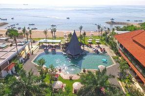 Bali-Denpasar, Combiné hôtels Balnéaire à l'hôtel Sadara Boutique Beach Resort à Nusa Dua + Tjampuhan 4* Charme à Ubud 4*