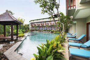 Bali-Denpasar, Combiné hôtels Balnéaire au Mercure Sanur + Ubud Wana à Ubud 4*