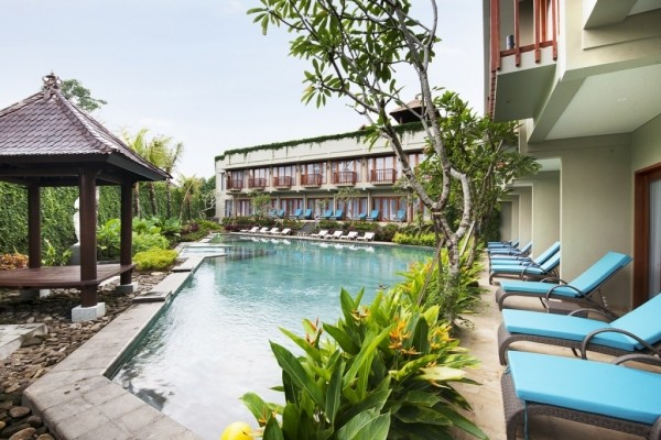 Piscine - Balnéaire au Mercure Sanur + Ubud Wana à Ubud Combiné hôtels Balnéaire au Mercure Sanur + Ubud Wana à Ubud4* Denpasar Bali