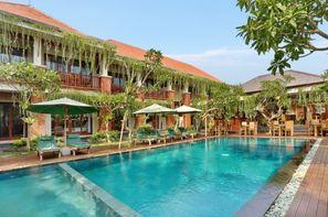 Bali-Denpasar, Combiné hôtels Balnéaire au Prama Sanur Beach + D'Bulakan Boutique Ubud 4*