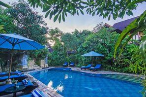 Bali-Denpasar, Combiné hôtels Balnéaire au Sri Phala à Sanur + The Ubud Village Hotel 4*
