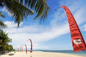 Bali-Denpasar, Combiné hôtels Balnéaire au Mercure Sanur 4* + Ananda Cottage 3*