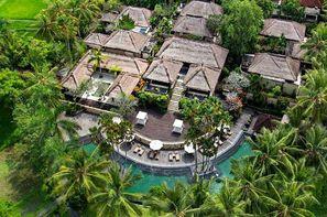 Bali-Denpasar, Combiné hôtels Sanur Paradise 4* + The Ubud Village 4*