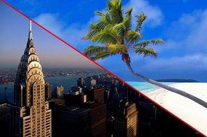 Etats-Unis-New York, Hôtel Combiné New York & Punta Cana