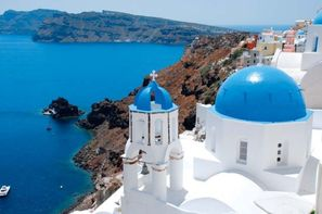 Grece - Santorin, Combin htels Priple Santorin/Mykonos en 1 semaine 3*