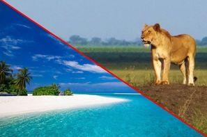 Kenya-Mombasa, Combiné circuit et hôtel Neptune Village Beach resort & spa 4* et Safari