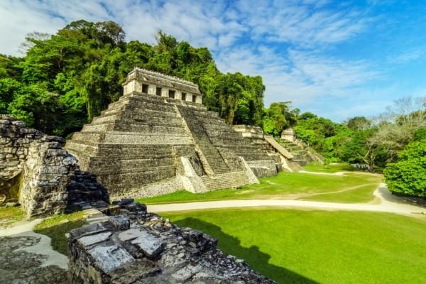 La cité maya de Palenque Combiné circuit et hôtel Les Merveilles du Yucatan et Chiapas + Riu Lupita Cancun Mexique