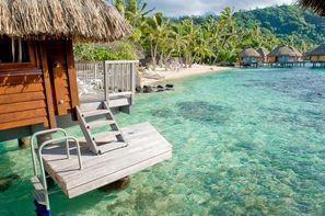 Polynesie Francaise - Papeete, Combiné hôtels 3 Iles : Tahiti, Moorea, Bora Bora - Entre terre et lagons 3/