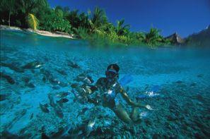 Combiné hôtels Passionnement Polynésie : combiné quatre îles, Tahiti, Moorea, Huahine e...