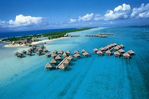 Polynesie Francaise-Papeete, Combiné hôtels Deux îles Tahiti et Bora Bora aux hôtels Meridien