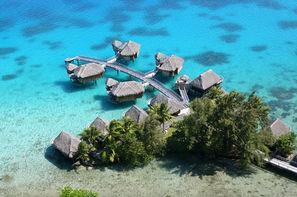 Polynesie Francaise-Papeete, Combiné hôtels Trois îles au Pearl et Sofitel : Tahiti, Moorea et Bora Bora
