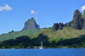 Polynesie Francaise-Tahiti, Combiné hôtels 4 îles Tahiti, Moorea, Bora Bora et Rangiroa : Hôtels Tahiti Nui 3*, Hibiscus Moorea 2*, Maitai Polynesia et Maitai Rangiroa 3*