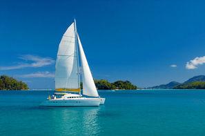 Seychelles-Mahe, Combiné croisière et hôtel Emeraude + séjour à l'aubergel Anse Soleil Beachcomber 2*