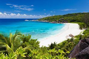 Seychelles-Mahe, Combiné hôtels 2 îles- Berjaya Praslin & Berjaya Beauvallon 3*
