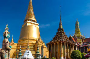 Thailande-Bangkok, Combiné circuit et hôtel Capitales du Siam et extension à l'hôtel Amari Hua Hin 4*