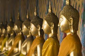 Thailande-Bangkok, Circuit Trésors du Siam & Cha Am au Grand Pacific 4* sup
