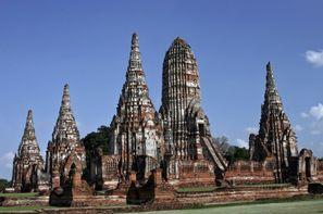 Thailande-Bangkok, Combiné circuit et hôtel Capitales du Siam et extension à Cha Am à l'hôtel Golden Beach 4*