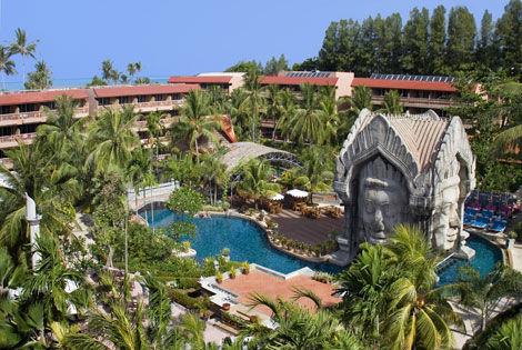 Piscine - Tresors du Siam et Phuket Orchid Resort Combiné circuit et hôtel Tresors du Siam et Phuket Orchid Resort Bangkok Thailande