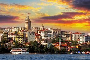 Turquie - Istanbul, Combiné circuit et hôtel Du Bosphore aux Rives d'Arabie
