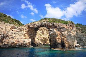 Grece-Corfou, Croisière Rivages Ioniens en caïque