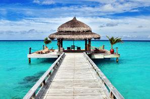 Maldives-Male, Croisière A la voile Maldives + séjour à l'hôtel Paradise Island 5*