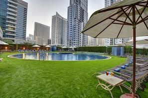 Dubai et les Emirats-Dubai, Hôtel Marina View Hotel Apartments 4*Sup