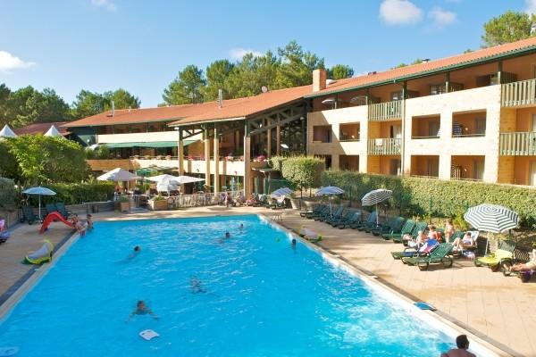 Piscine - Vital Parc Hôtel Vital Parc3* Lacanau France Cote Atlantique