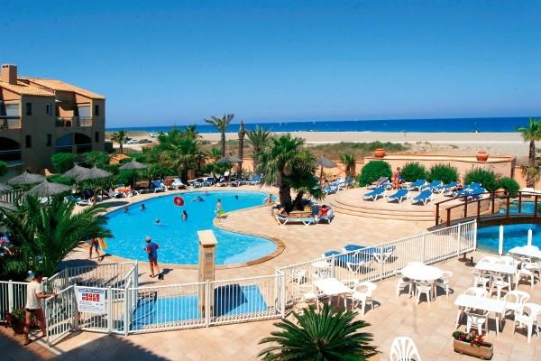 Piscine - La Lagune Beach Resort & Spa Résidence hôtelière La Lagune Beach Resort & Spa Saint-Cyprien France Languedoc-Roussillon