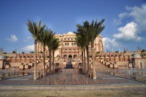 Abu Dhabi-Abu Dhabi, Combiné hôtels Désert + Plage