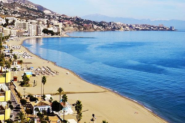 plage - Las Rampas  Hotel Las Rampas3* Malaga Andalousie